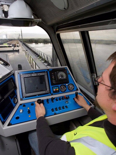 ERTMS testing on-board